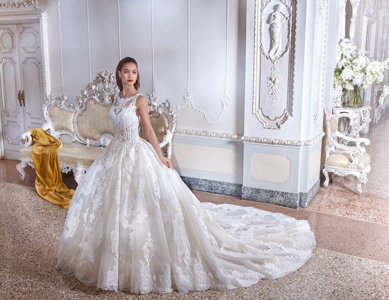 Demetrios Platinum Simone Champs Elysées Mariage